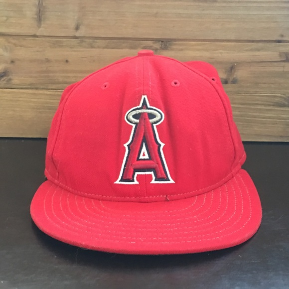 b81ffb3c Los Angeles Angels Fitted Hat